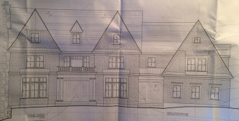 This new 5-bedroom home is planned for 42 Hillcrest Road. Specs by PB Architects of Darien