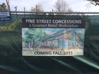 "Looks like the new marketplace on Pine will be called ""Pine Street Concessions."""