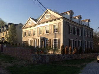 The townhouses at 474 Main St. in New Canaan. Credit: Michael Dinan