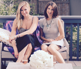 Olivia Huvane (L) and Amy Gray (R) are opening up Scout & Molly's next month on Elm Street in New Canaan. Contributed