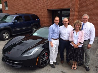 Karl Chevy Awards Corvette Stingray after Hole-in-One at ...