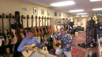 Phil Williams and Jim O'Neil of New Canaan Music. Credit: Jes Sauerhoff