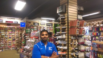 Rinku Ghadiyali of Athletic Shoe Factory. Credit: Jes Sauerhoff