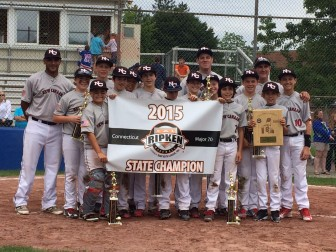 New Canaan's 12U boys baseball team won the state championship in Cal Ripken Baseball this summer—congratulations to the players and coaches! Contributed