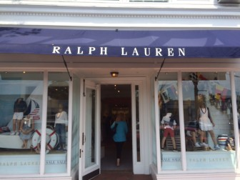 Ralph Lauren Children's store at 115 Elm St. will close in mid-August. Credit: Michael Dinan