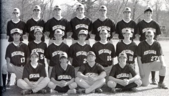 The 2006 NCHS Varsity baseball team. Curt Casali is in the top row, third from the left. Photo: Contributed