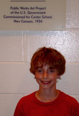 Alex Hutchins in 2007, a West School fourth-grader. Contributed