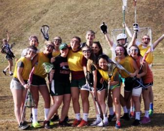 My lacrosse team at New Hampton School