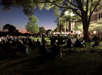 Outdoor concert series at Waveny on Aug. 26, 2015 -- the last show of the season. Credit: Whitney Williams