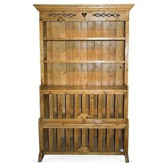 This antique Irish pine cupboard is listed at $3,095. Click here for more info https://www.chairish.com/product/149901/antique-irish-pine-cupboard