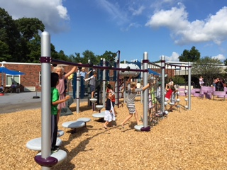 The new playground at South School. Contributed