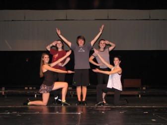 Left to right: NCHS Theatre's Jenny Daly, Allison Demers, Jacob Freedgood, Kate Callahan and Margot Weiss. Contributed