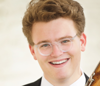 Harrison Miller, who won The Juilliard School's Concerto Competition. Contributed