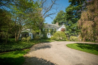 This 1938-built, 7-bedroom Colonial at 1102 Oenoke Ridge Road sits on 5.2 acres. It sold in October 2015 for $2,850,000. Assessor photo