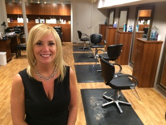 Toni Esposito, owner of Cherry Street Salon, is opening 'Salon 5 East' at 5 East Ave., most recently the Hairquarters West space. Credit: Michael Dinan