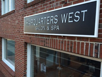 Hairquarters West in New Canaan is closing and a successful local business is taking over under the name 'Salon 5 East' is opening. Credit: Michael Dinan