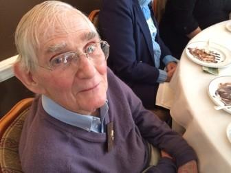 David Borglum at a recent Kiwanis Club meeting. Credit: Michael Dinan