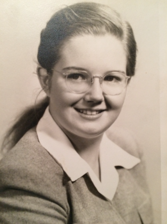 Patricia Smith in her youth.