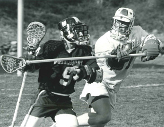 Reid Campbell playing for Washington & Lee. contributed