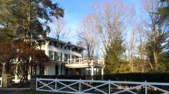 The home at 528 Main St. is one of the most recognizable in New Canaan. Credit: Michael Dinan