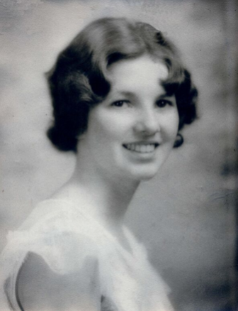 Audrey Stewart in high school. Photo courtesy of the Stewart family