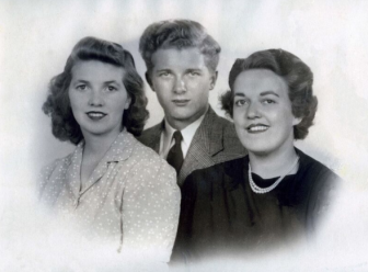 Audrey, George and Jean Bailey as teenagers. Photo courtesy of the Stewart family