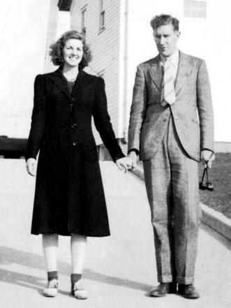 Audrey Stewart and Walter Stewart, Sr. in 1940. Photo courtesy of the Stewart family