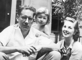 Walter Stewart Sr. and Audrey Stewart with daughter Linda, 1941. Photo courtesy of the Stewart family
