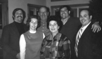 Stewart family photo, ca. 1973. Photo courtesy of the Stewart family
