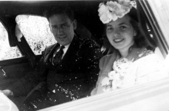 Walter Stewart, Sr. and Audrey Stewart. Photo courtesy of the Stewart family