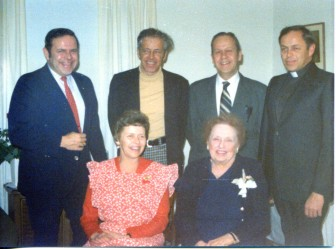 Rose Karl sitting at right with her five kids in 1977. Photo courtesy of the Karl family