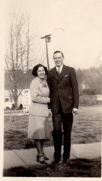 Aunt Lee & Uncle Bill - date unknown. Photo courtesy of the Franco family