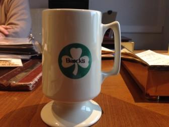 A Brock's coffee cup. Credit: Terry Dinan