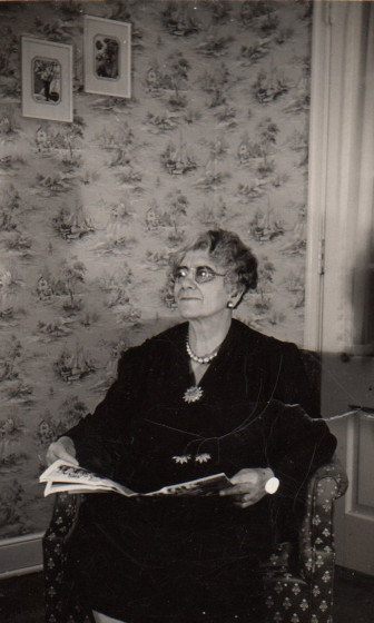 Filomena Franco, Lydia's mother. She was involved in the family business in the background, even more so when her husband, Gaetano, passed in 1935. Photo courtesy of the Franco family
