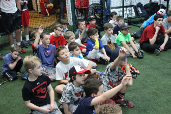 Scenes from the NC Baseball clinic, Dec. 29, 2015. Credit: Terry Dinan