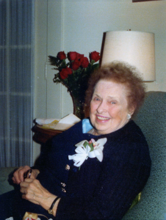 Rose Karl in 1977. Photo courtesy of the Karl family