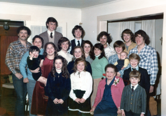 The Karl family in 1981. Photo courtesy of the Karl family
