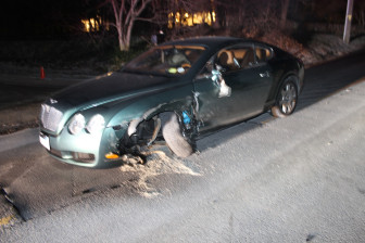 Two-Car Accident Closes Lower Frogtown Road Monday Night