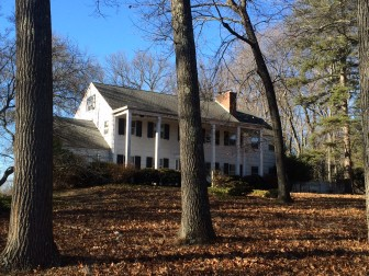 The property at 4 Woodridge Circle has been found in violation of New Canaan's blight ordinance. Credit: Michael Dinan