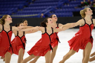 Olivia Linnartz, 15, of New Canaan at right. Contributed photo