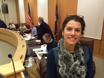 Christa Kenin of the Town Council also serves on the Lifestyle Committee of Waveny Pool. Credit: Michael Dinan
