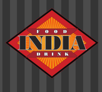 The logo for India restaurant, to open late March or early April on Main Street in New Canaan.