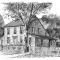 Sketch of 8 Ferris Hill Road, present-day, by Mark Markiewicz