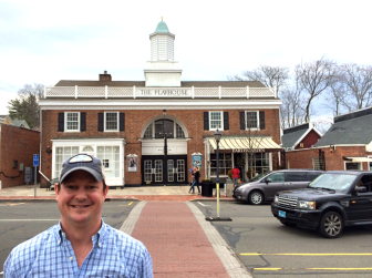 New Canaan's Jeff Mellick co-founded Beachmate with his wife, Beatrice. The 1993 NCHS graduate left Wall Street after 15 years to launch the new company. Credit: Michael Dinan