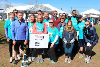 The Devine family at a recent Whittingham Cancer Center Walk & Sally's Run. Contributed
