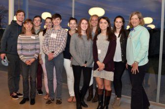 The New Canaan Community Foundation's Young Philanthropists, on May 4, 2016. Contributed