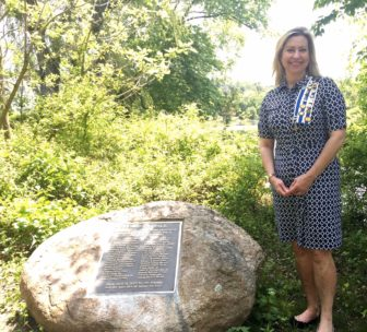 The New Canaan Chapter of the DAR is the fastest growing chapter over the past two years in the entire state, according to Lisa Melland, regent of the Hannah Benedict Carter Chapter.