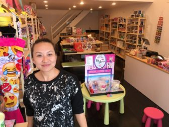 Town resident Amanda Cui opened Funky Monkey at 4 South Ave. in New Canaan on Friday, May 20, 2016. Credit: Michael Dinan