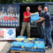 Adam Jacobson, Ari Jacobson and Josh Roth from Pet Pantry Warehouse, assist Brian Gordiski from Adopt A Dog in loading a donated pallet of Blue Buffalo dog into the shelter's van. Adopt A Dog feeds the entire shelter population for free as a result of Pet Pantry's Feed the Need program.. June 27, 2016 Credit: Sadie Smith