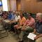 The Town Council on July 20, 2016 recognized the members of the New Canaan Family Fourth Committee during its regular meeting at Town Hall. L-R (front row): Win Goodrich, Steve Parrett, Doug Richardson, Scott Cluett, Suzanne Jonker, Steve Benko, Rob Mallozzi and Tom Stadler. Credit: Michael Dinan